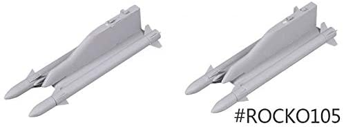 Parts & Accessories Decoration Missile for FMS Model 70mm F18 Foam Model Airplane FMS100 - (Color: A and B and C)