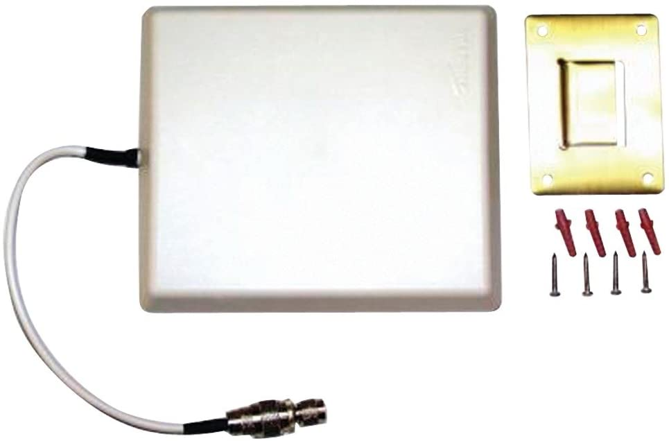 zBoost YX027-PCS-CEL Dual Band Directional Indoor Wall-Mount Antenna with TNC Male Connector, (6 dBi CEL, 9 dBi PCS)