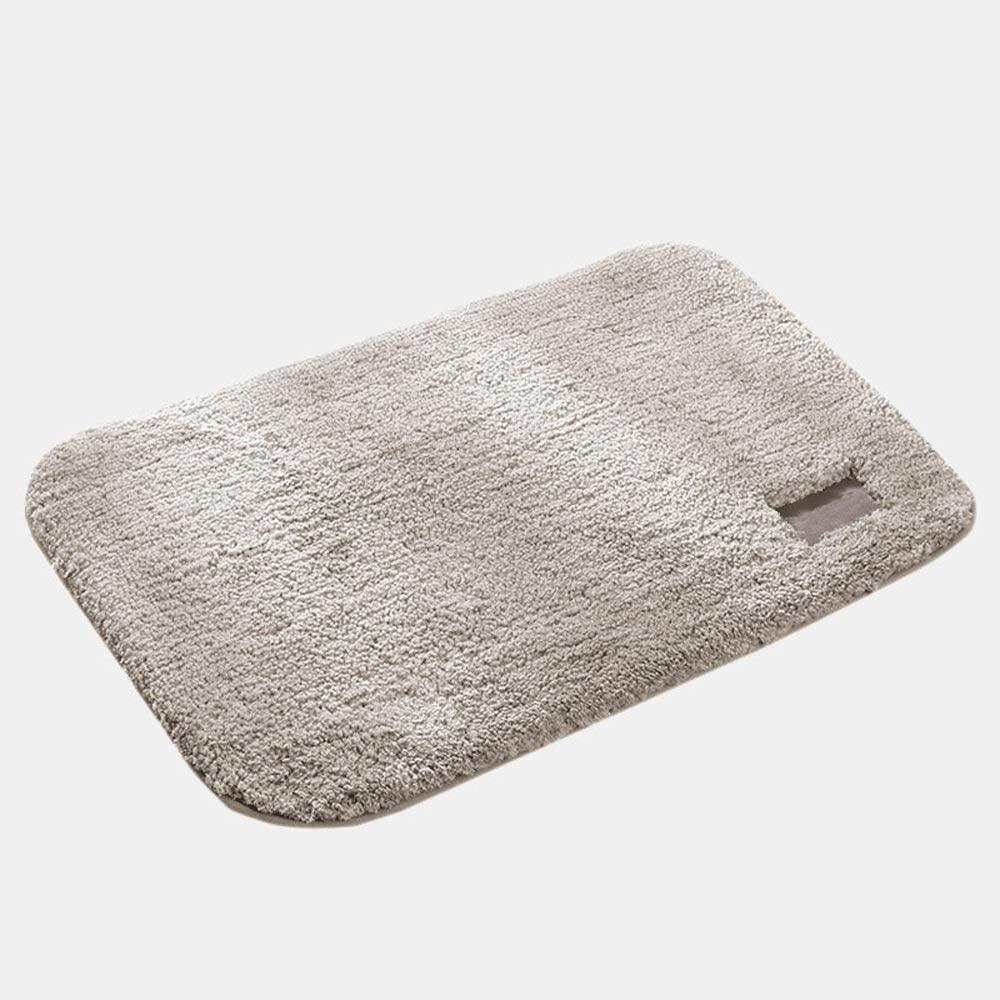 Mcttui Carpet Entrance Door Mat Kitchen Bathroom Water Absorption Non-Slip Mat 4060cm Beige