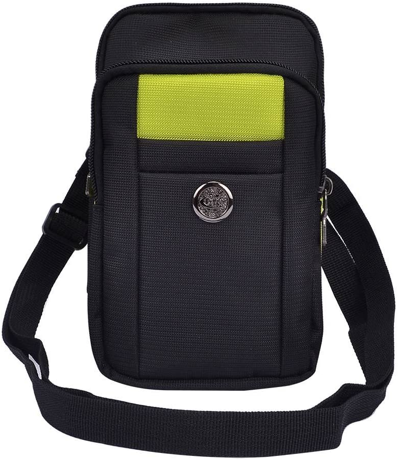 Waist Packs Cellphone Crossbody Bag Belt Case Fit for Samsung Galaxy S20, S20 Ultra, S20 Plus, Z Flip, Xcover Pro, Note 10 Lite, S10 Lite, A01, A71, A51, Xcover FieldPro, A70s, A20s, M10s