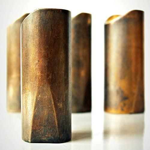 Rock Slide Swamp Slide Tarnished Brass Medium