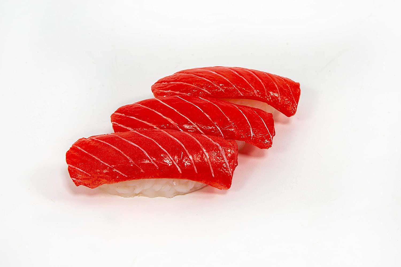 Just Dough It Sushi – Fake Salmon Nigiri, Set of 3 (W802-1)
