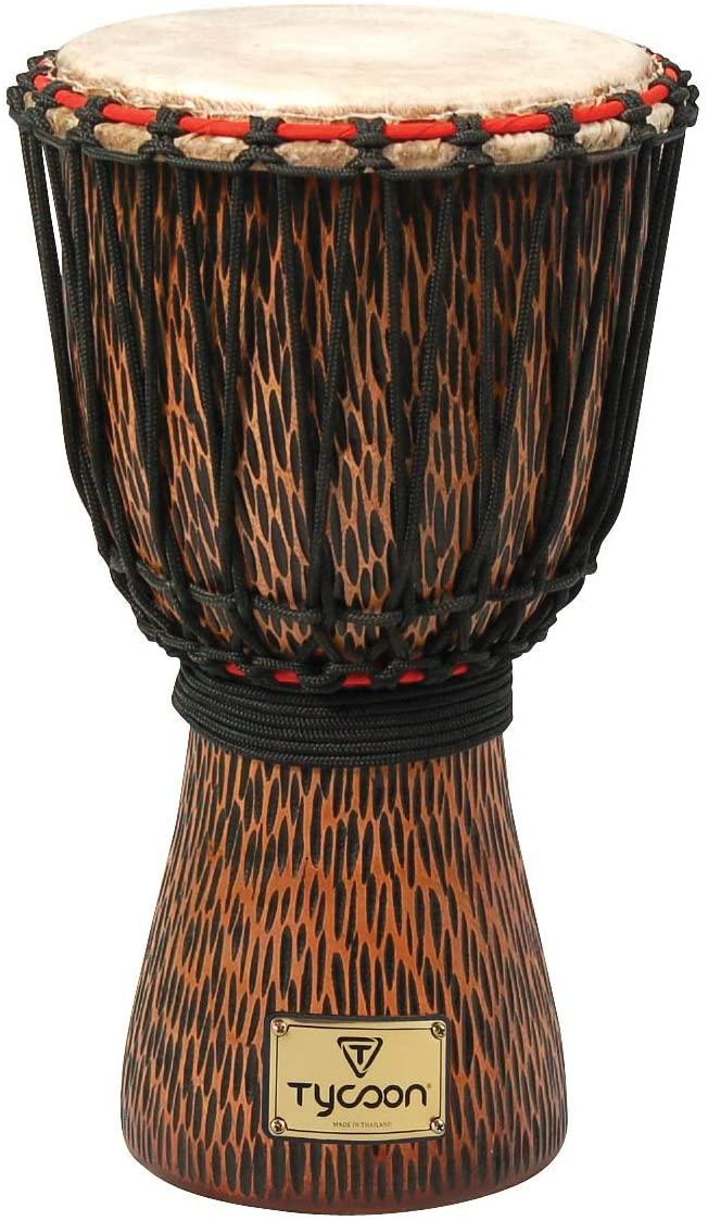 Tycoon Percussion TAJ-10 CO Djembe - Orange Chiseled