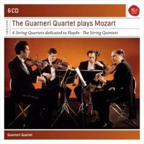 Guarneri Quartet Plays Mozart Quartets
