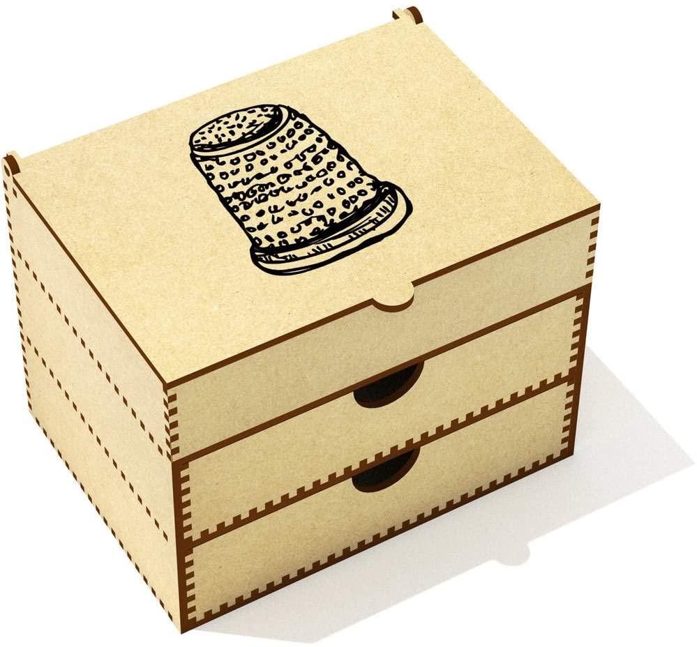 Azeeda 'Thimble' Vanity Case / Makeup Box (VC00008692)