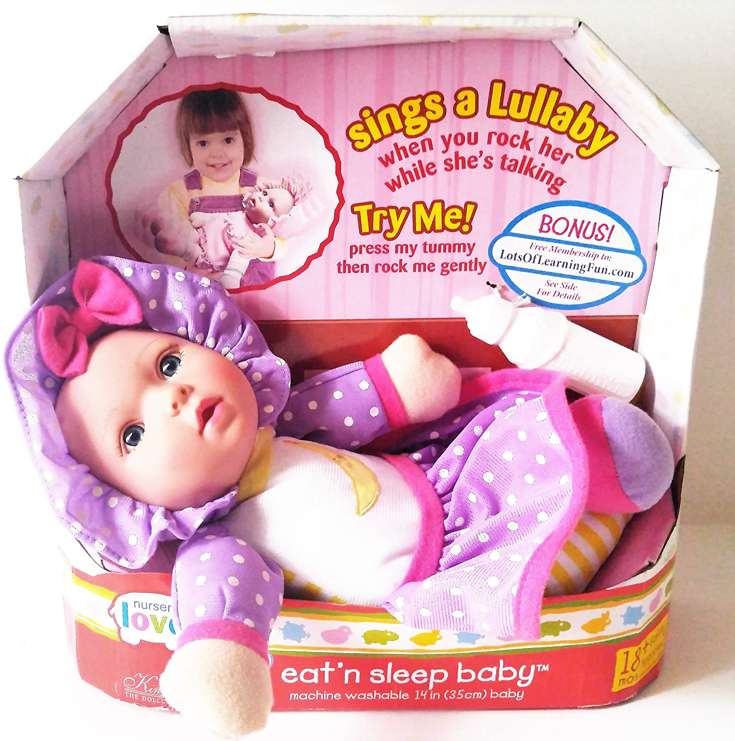 Nursery Love Talking, Eatn Sleep Doll