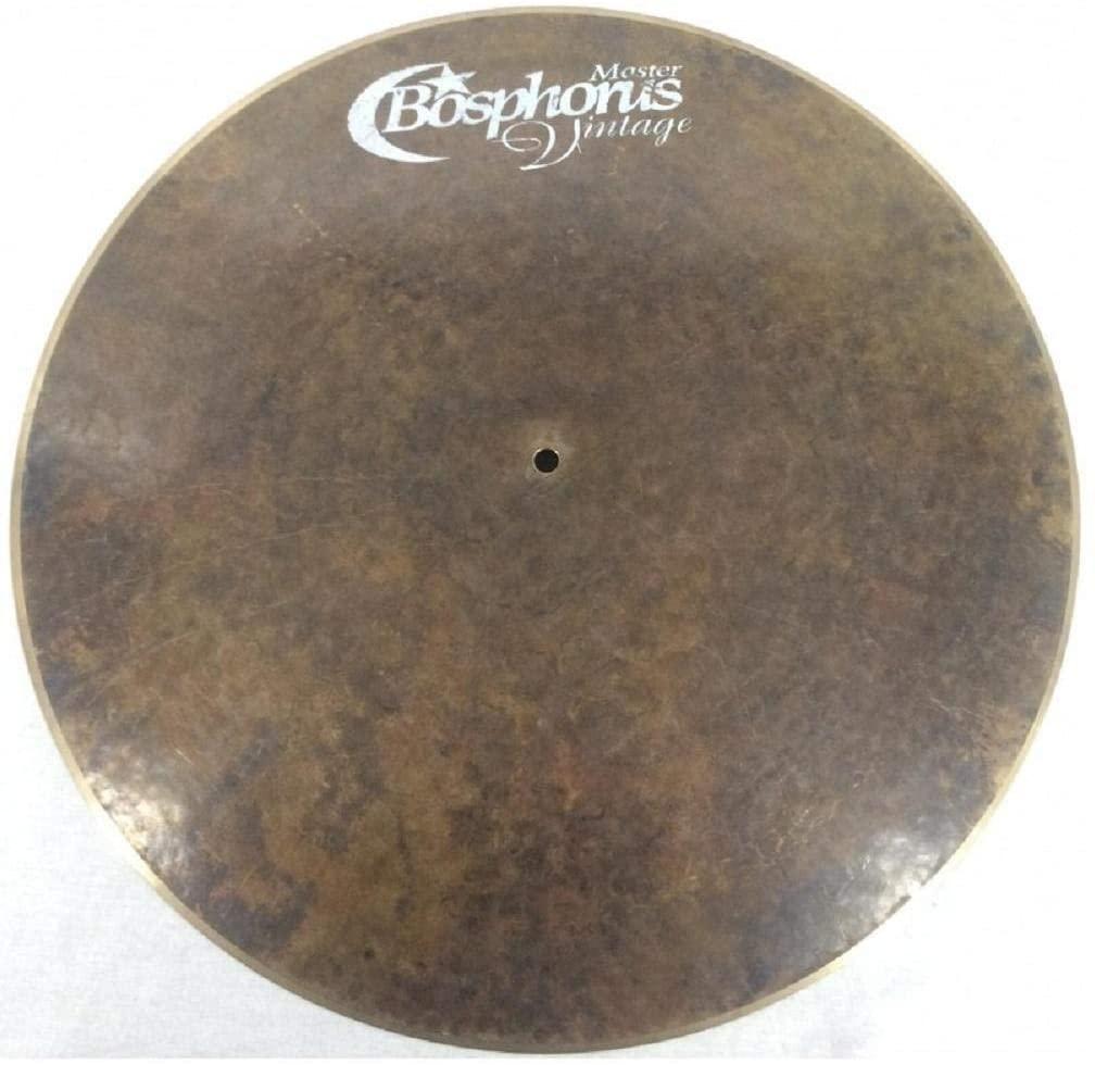 Bosphorus Cymbals MV22FR 22-Inch Master Vintage Series Flat Ride Cymbal