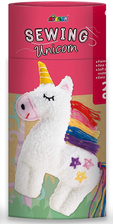 Avenir CH1620 Sewing Doll Unicorn, Mixed Colours