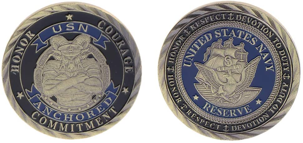chefensty Commemorative Coin US Marine Collection, Gifts Souvenir Crafts Arts Bitcoin BTC