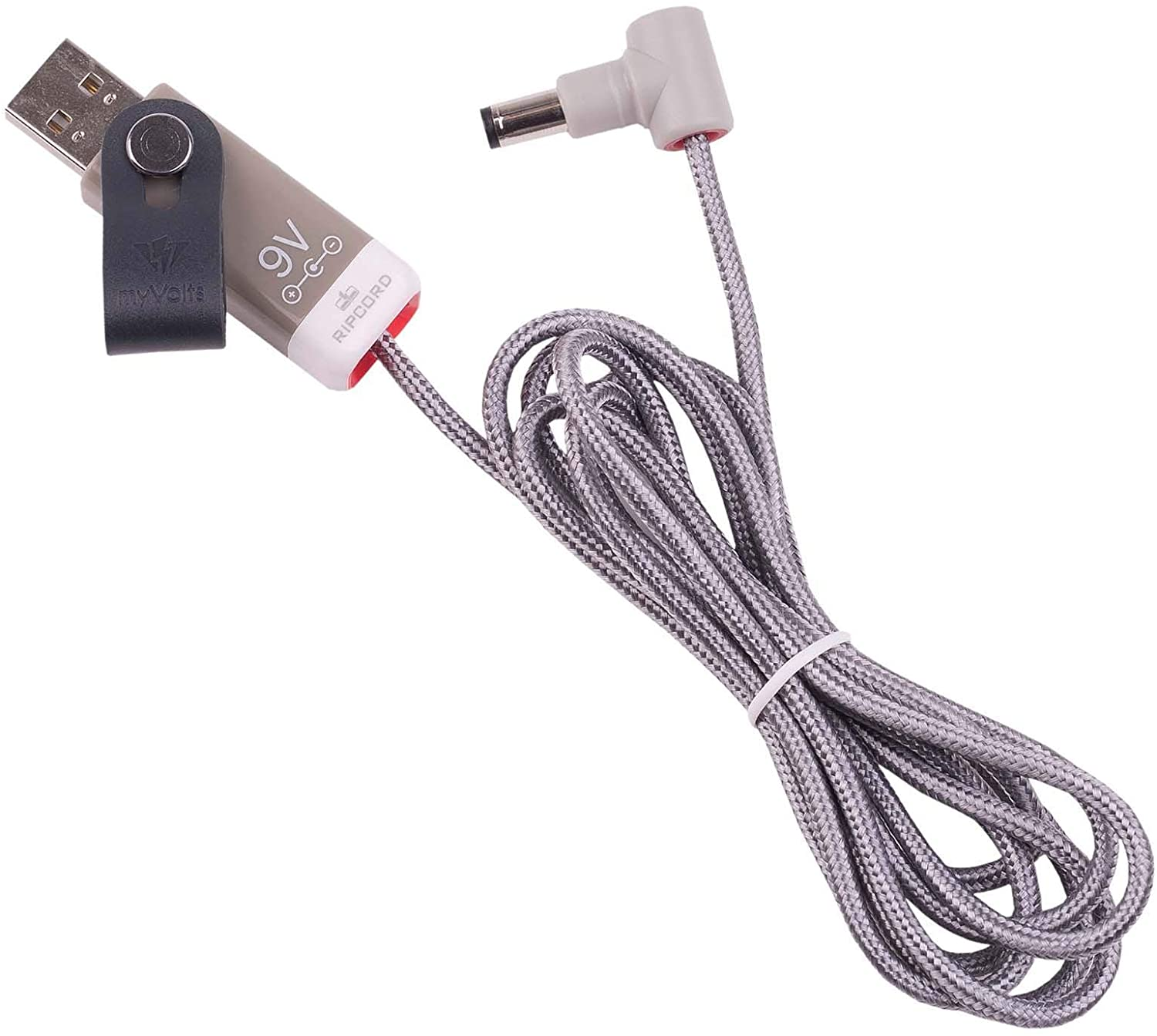 myVolts Ripcord - USB to 9V DC Power Cable Compatible with The ThorpyFX The Dane Overdrive Effects Pedal