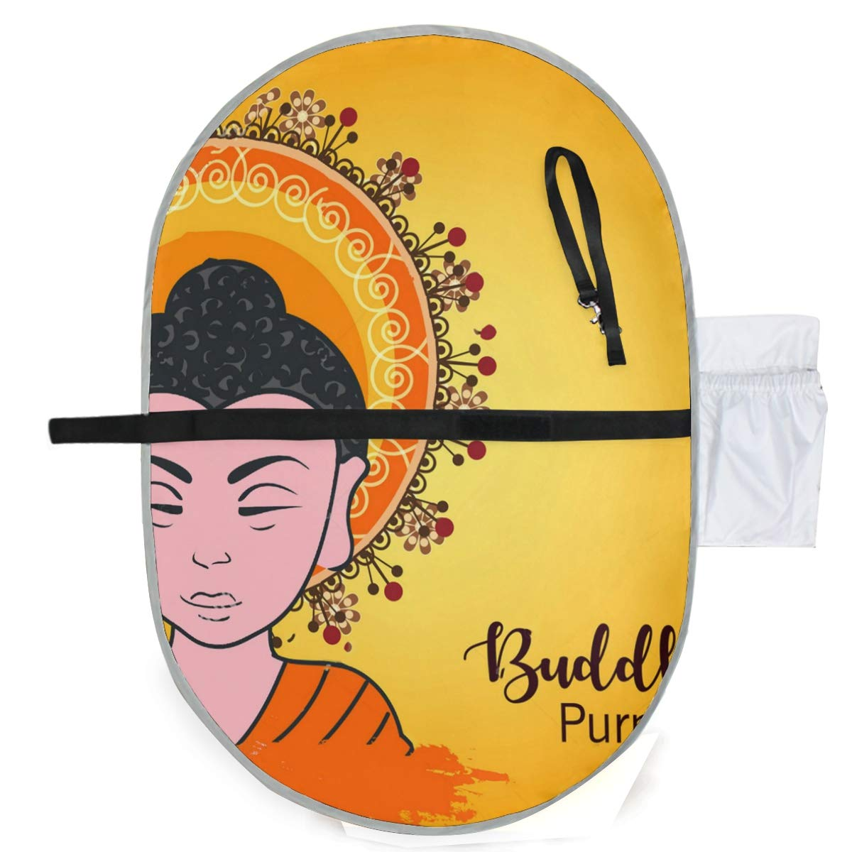 SLHFPX Changing Pad Happy Buddha Baby Diaper Urine Pad Mat Vintage Kids Urinal Mats Sheet for Any Places for Home Travel Bed Play Stroller Crib Car