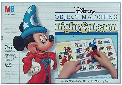 Disney Object Matching Light & Learn Game