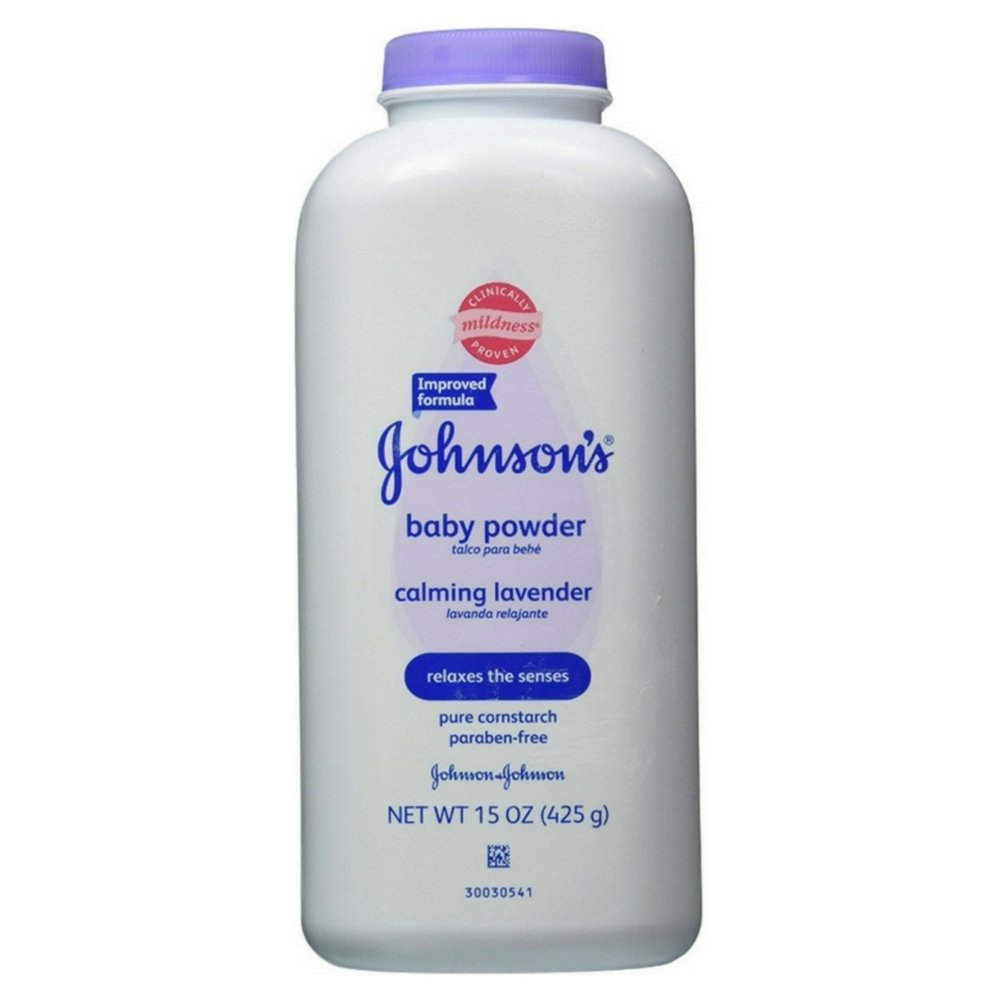 JOHNSON'S Baby Powder Calming Lavender 15 oz (Pack of 5)