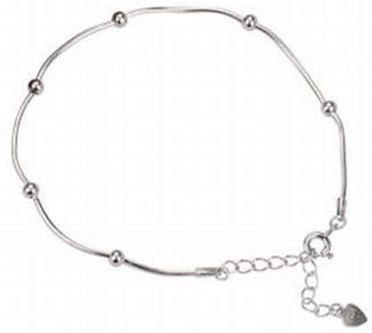 SLL Frauen Natürliche 925 Silber Tropfenförmige Überzug Armband S925 Sterling Silber Einfache Süße Mode Atmosphäre Transfer Bead Armband Student Geschenk-Set