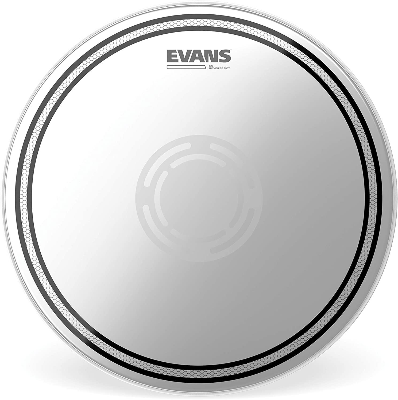 Evans EC Reverse Dot Snare Drum Head, 13 Inch