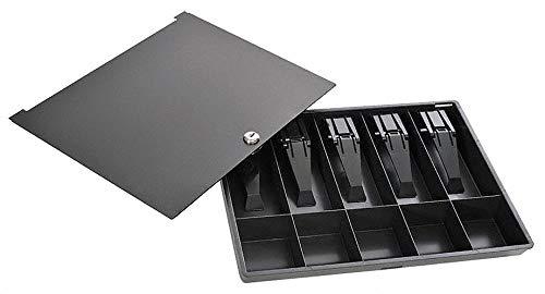 Buddy Products Cash Box, Plastic, Wafer Tumbler Lock