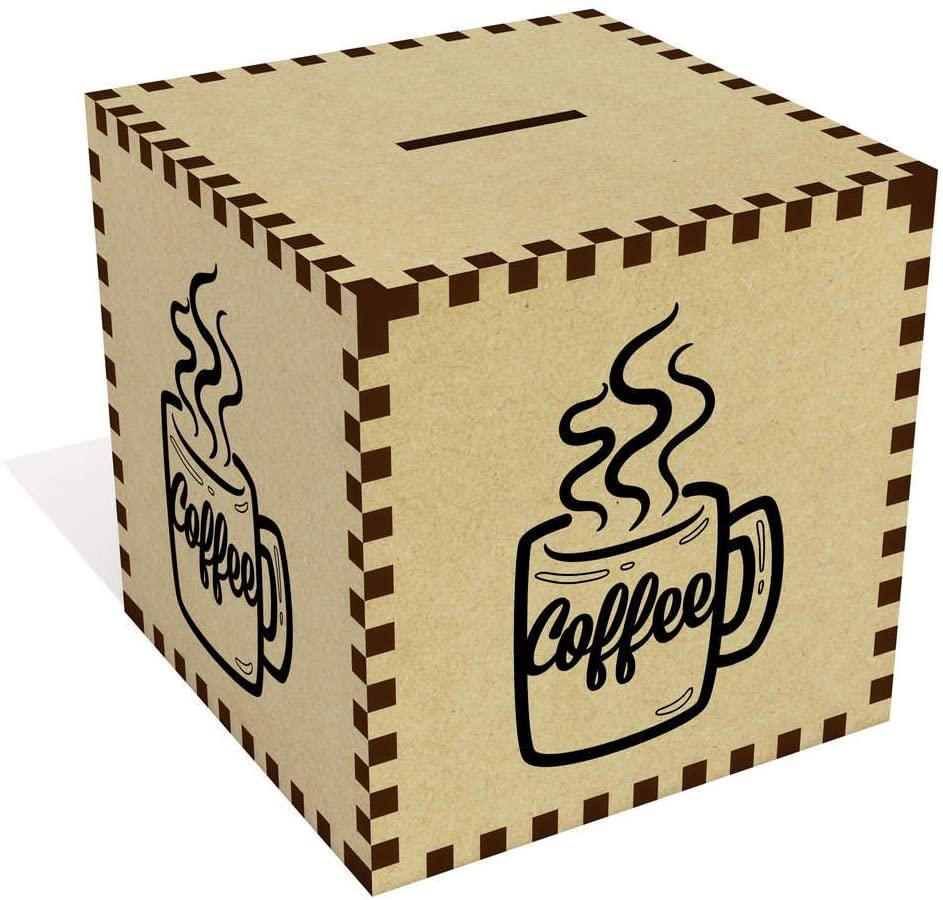 Azeeda Large 'Mug of Coffee' Money Box / Piggy Bank (MB00025784)