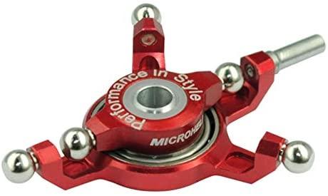Microheli Precision CNC Aluminum Swashplate (RED) - WLTOYS V950