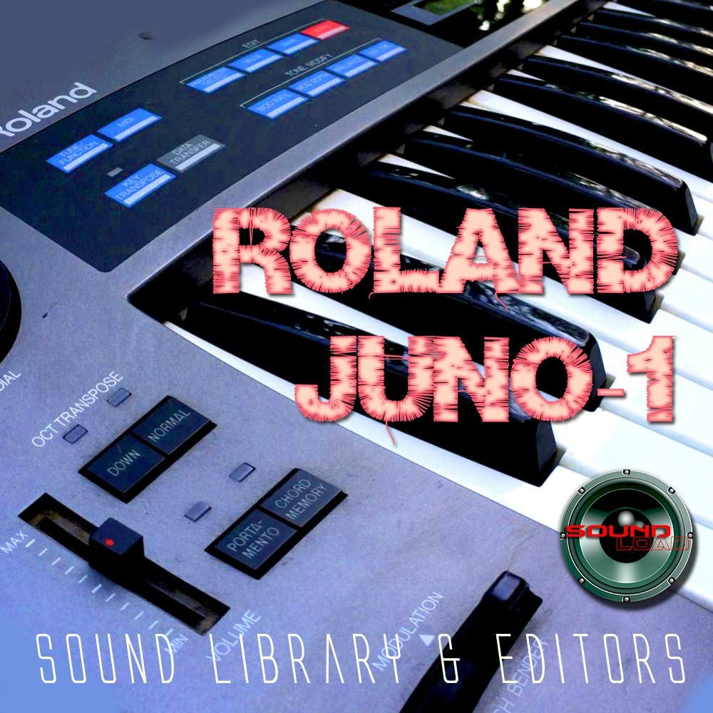 ROLAND Juno-1 Huge Original Factory & new Created Sound Library & Editors on CD or download