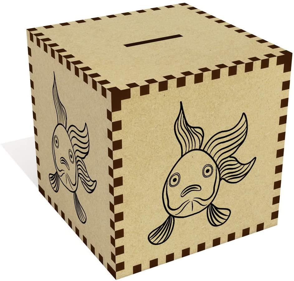 Azeeda Large Fish Money Box / Piggy Bank (MB00016484)