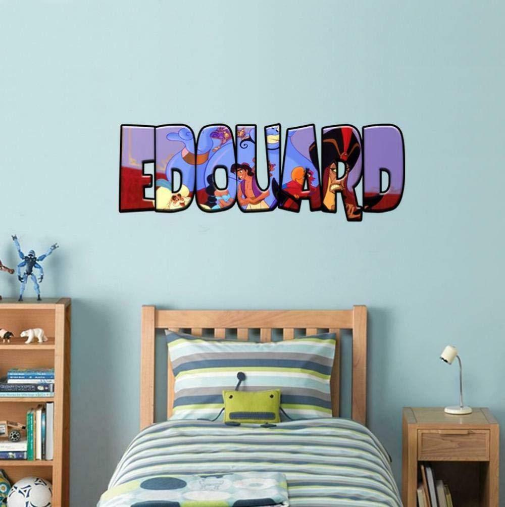 Name Decal Wall Sticker Art Kids