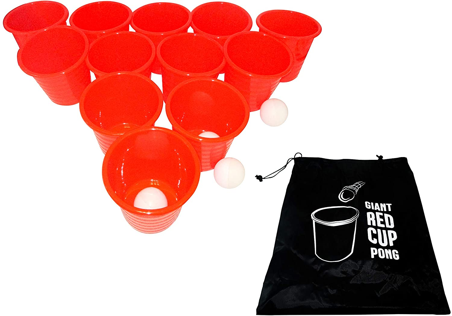 Trademark Innovations Giant Outdoor Pong Lawn Yard Game