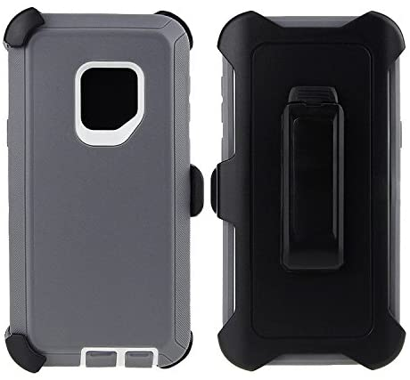 Samsung Galaxy S9 Guarder Case & Belt Clip for Samsung Galaxy S9, [Holster Fits Otter Box][No Screen Protectors] - S9 Grey
