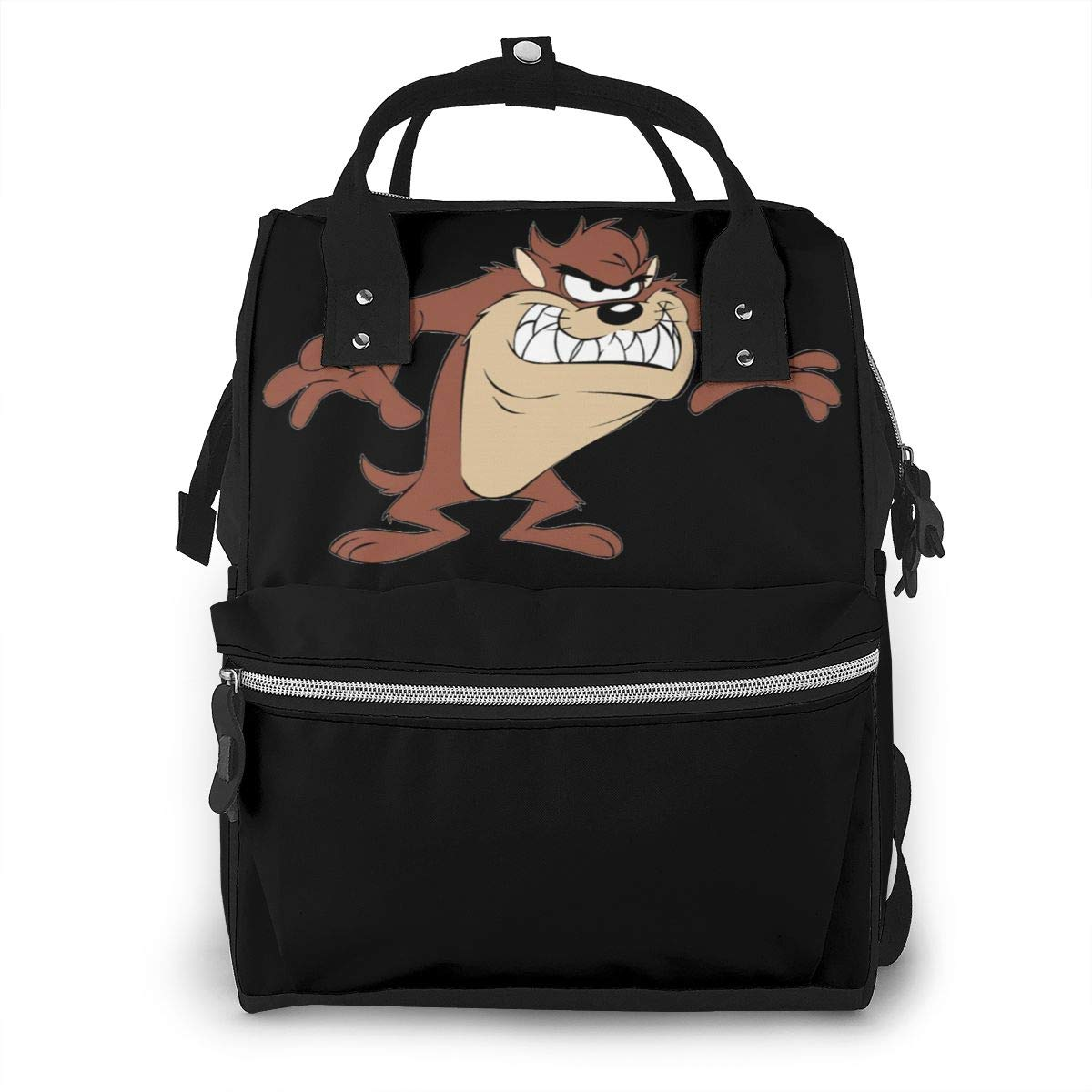 Tasmanian Devil Diaper Bag Multi-Function Waterproof Travel Backpack Nappy Bags for Baby Care Mummy Backpack
