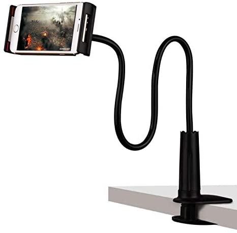 weizhangTablet Desktop Holder Bed Long Arm Lazy Stand Mount Phone Bracket Desk Clip Universal for iPad iPhone Samsung Huawei TSFH 100cm B