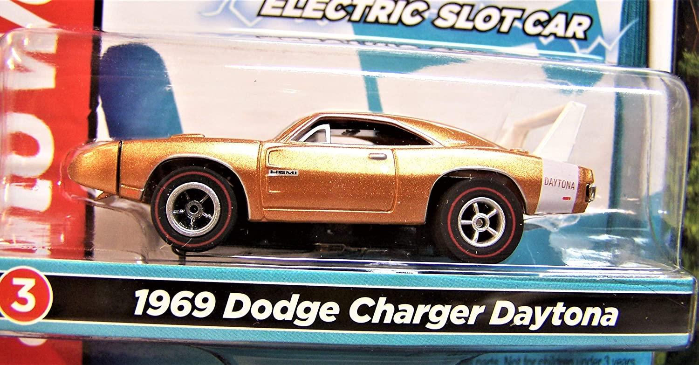 Auto World Copper Class of 1969 Dodge Charger Daytona Ho Scale Slot car
