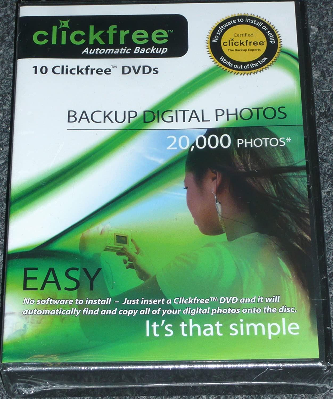 Clickfree DVD Photo Backup - 5 Pack