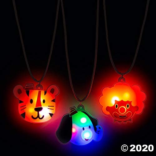Light-Up Carnival Necklaces - Jewelry - 12 Pieces