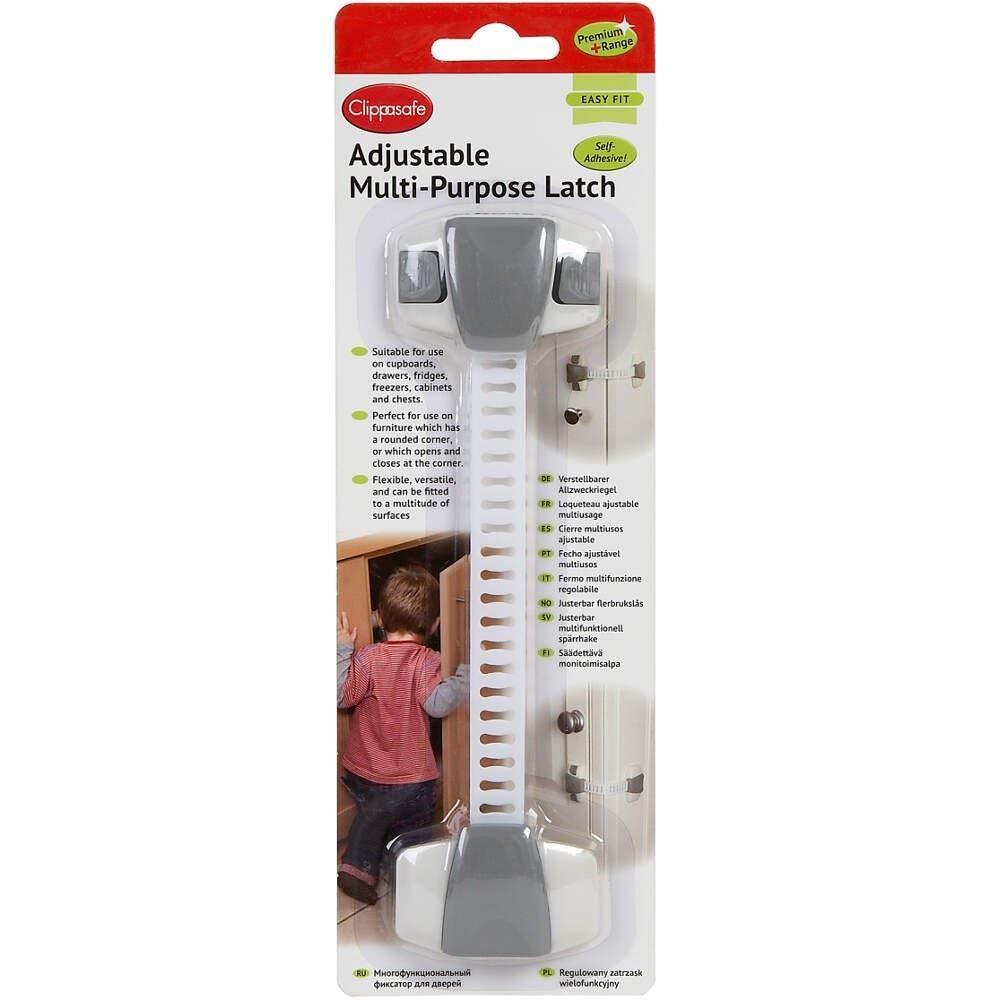 Clippasafe Premium+ Adjustable Multi-Purpose Latch