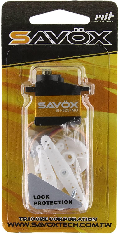 Savox SH-0257MG Super Speed Metal Gear Micro Digital Servo