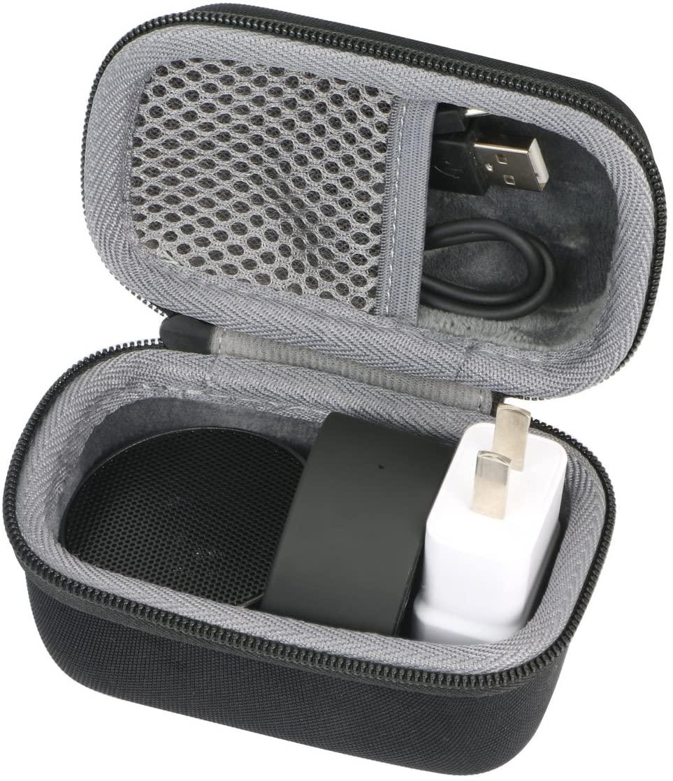 Hard Travel Case for LectroFan Micro Micro2 Wireless Sleep Sound Machine Bluetooth Speaker Fan Sounds by co2CREA (Size M)