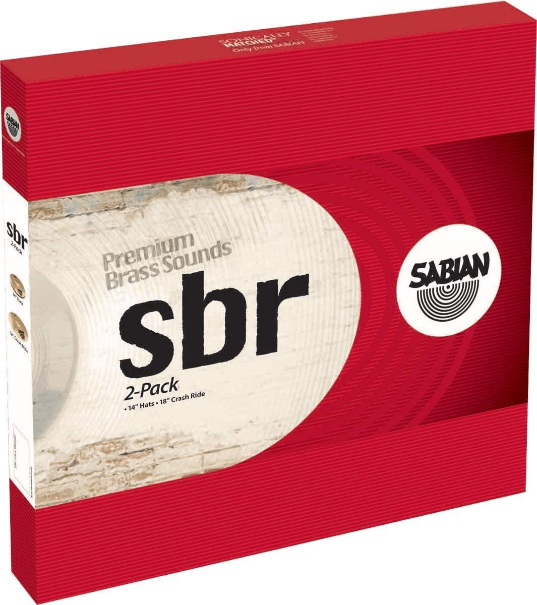 Sabian Cymbals SBR5002 SBR 2-Pack 14