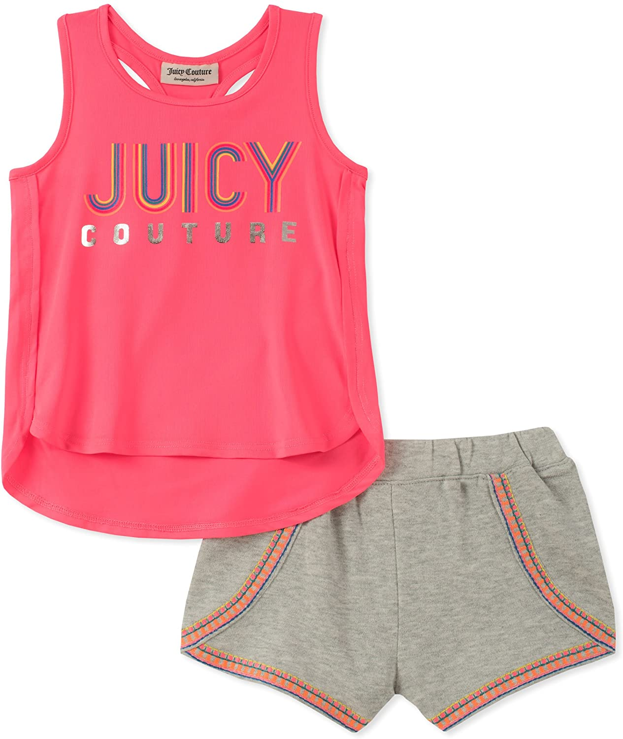 Juicy Couture Baby Girls 2 Pieces Shorts Set