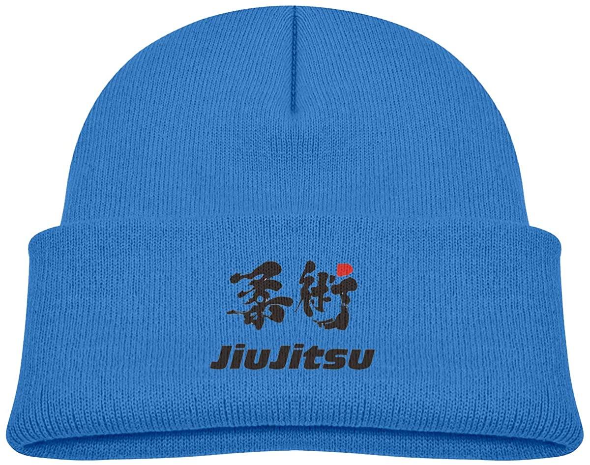EASON-G Toddler's Beanie Jiu Jitsu Cuffed Knit Hat Skull Cap