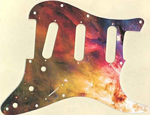 Custom Graphical Pickguard to fit Fender Strat Stratocaster Orion Nebula 1