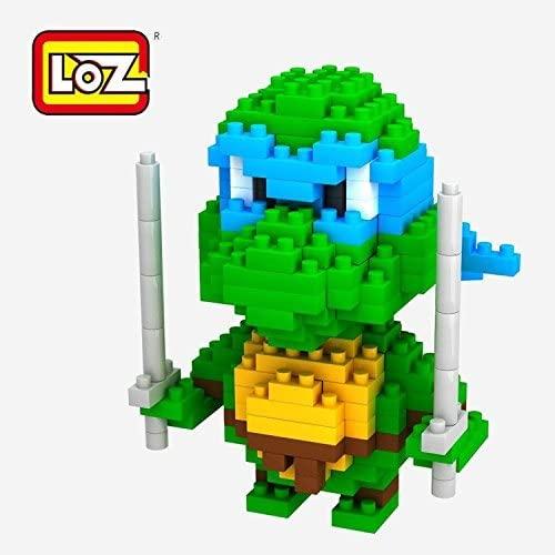 LOZ DIY Diamond Blocks Figure Toy 9151 Teenage Mutant Ninja Turtles Leonardo