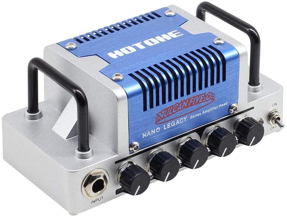 HOTONE Vulcan Five-O High Gain Guitar Amp Head 5 Watts Class AB Amplifier with CAB SIM Phones/Line Output