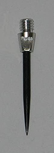 US Darts AccuDart - 2BA Steel Conversion Points - Silver - 1 Set (3 Points)