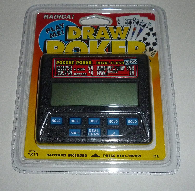 Pocket Poker: Royal Flush 3000 (Radica Model #1310)