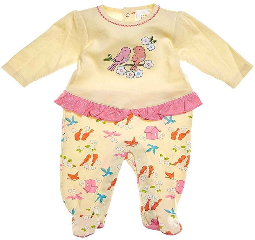absorba Birdsong Baby Coverall Footie