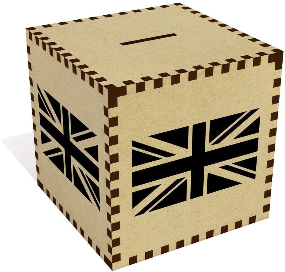 Azeeda Large Union Jack Flag Money Box / Piggy Bank (MB00031139)