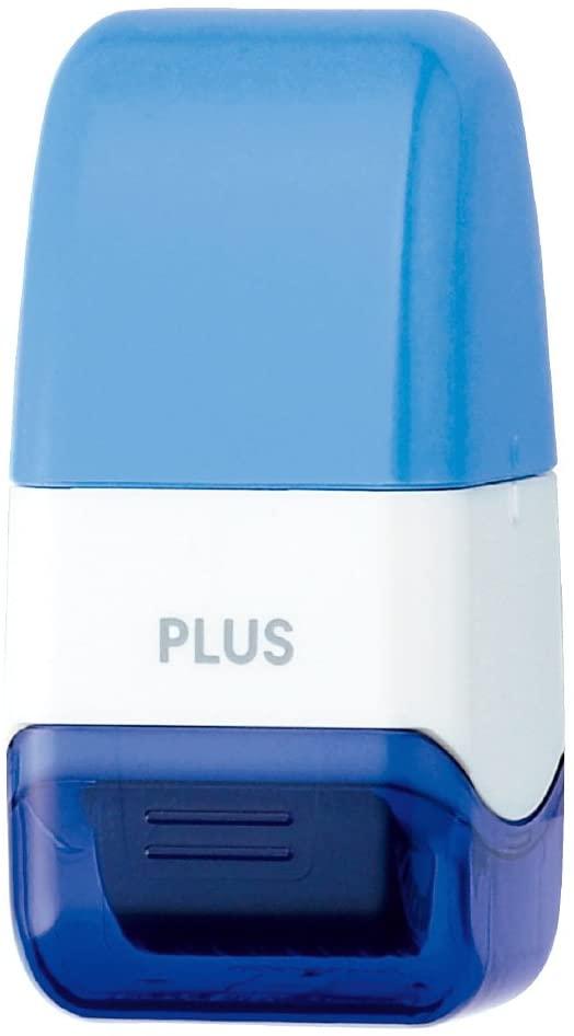 PLUS Kespon Guard Your Id Roller Stamp Mini Blue