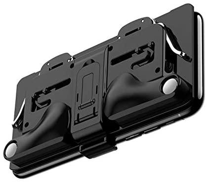 Mobile Game Controller for PUBG Mobile Controller L1R1 Mobile Game Trigger Phone Case (Black)