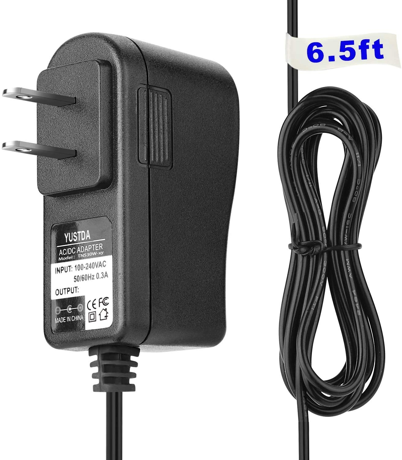 Yustda AC/DC Adapter Replacement for LG STA-U32WRI 5.1VDC 0.7A Power Supply Cord Battery Charger Mains PSU