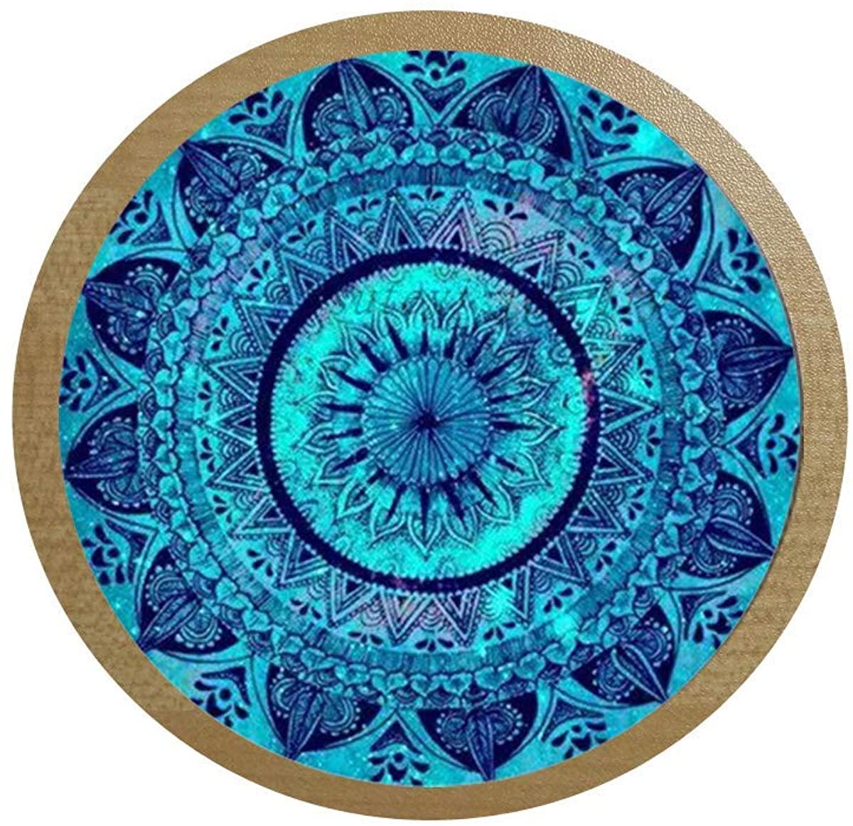 Charms Mandala Statement Necklace Glass cabochon Necklaces & Pendants Zen Yoga Spirital Jewellery Lucky Amulet ice Box Sticker,Blackboard Sticker