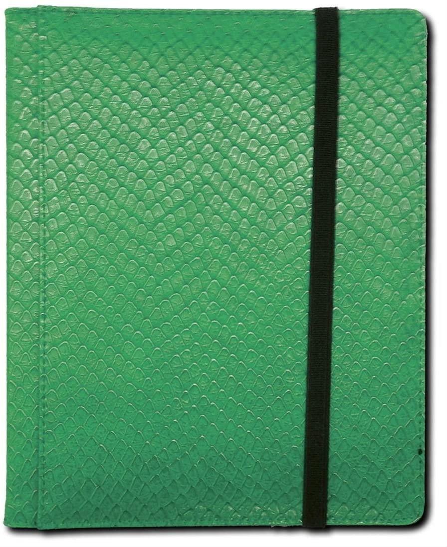 Binder - 4 Pocket Dragon Hide Green